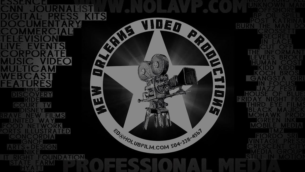 Demo Reel Compilation New Orleans Video Productions