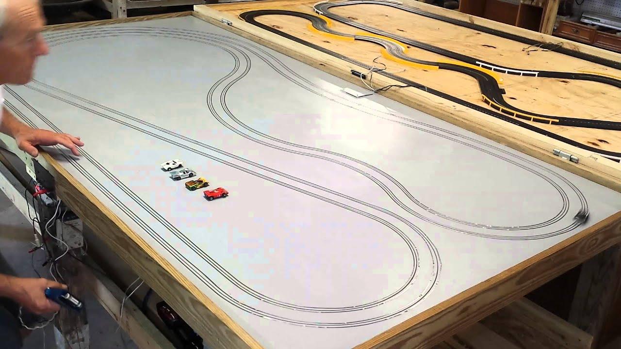 ho slot car tracks
