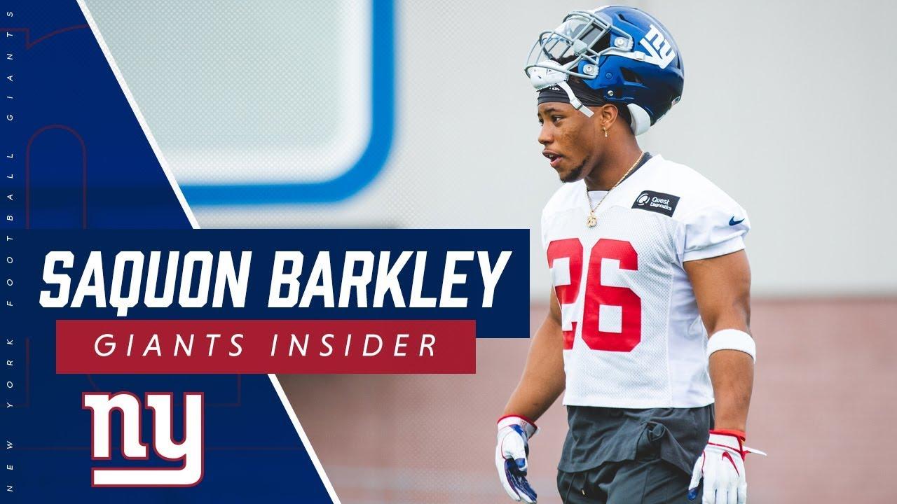 b3029d99 Saquon Barkley: I want to grow as a leader. New York Giants