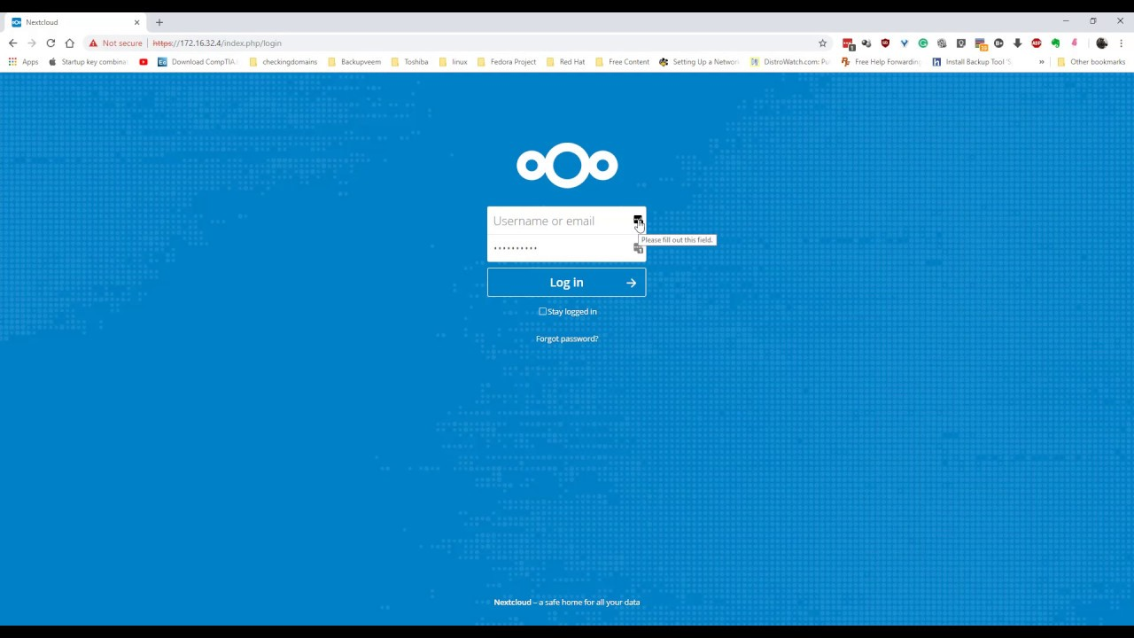 NEXTCLOUD ERROR | Access through untrusted domain Please contact your  administrator