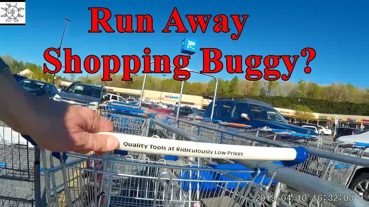 Run Away Shopping Buggy?