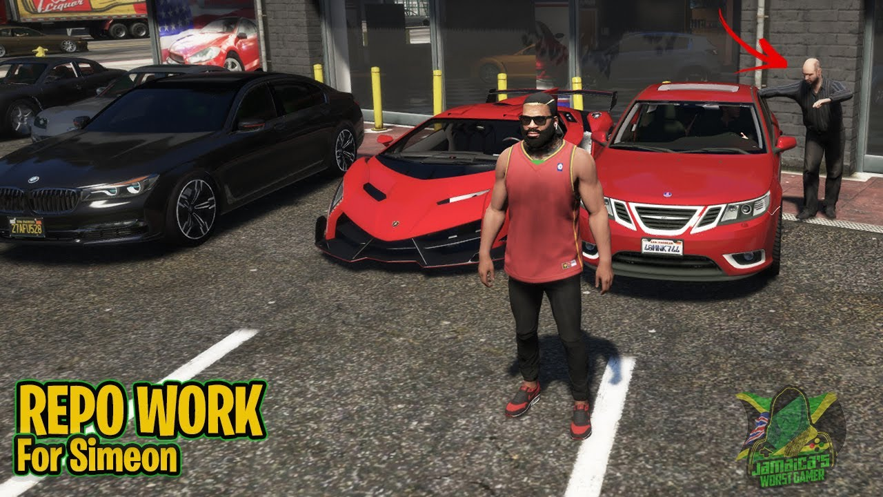 Gta 5 | Real Life Mods | REPO WORK | Jamaica's Worst Gamer | Jwg Nation