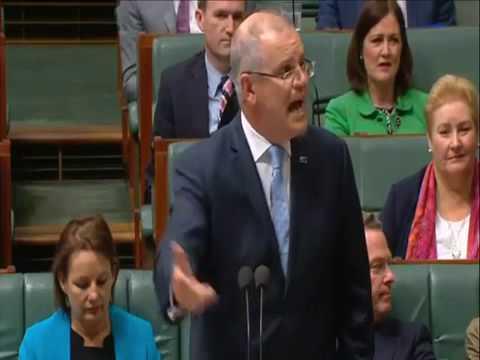 Scott Morrison screams himself hoarse over tax cut speculation