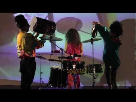 Kiran Gandhi (Drummer for MIA) Live Session LA