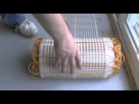 Thermotile Radiant Floor Heating Mats