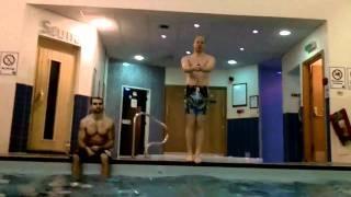 Reverse Swimming Pool Jumps