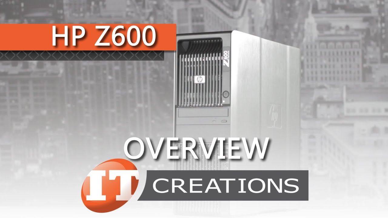 HP Z600 Workstation Review