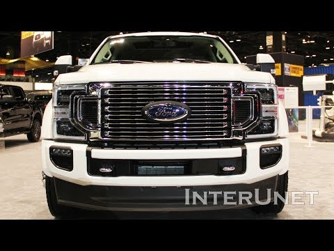 2020 Ford F-Series Super Duty Turbo Diesel 4x4 Trucks