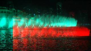 Dubai Dancing Fountain Video - Music Enta Omry, Photographed by #EbnatAlHolm