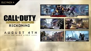 Call of Duty: Advanced Warfare EXO ZOMBIES TRAILER RECKONING Map Pack 4 Trailer