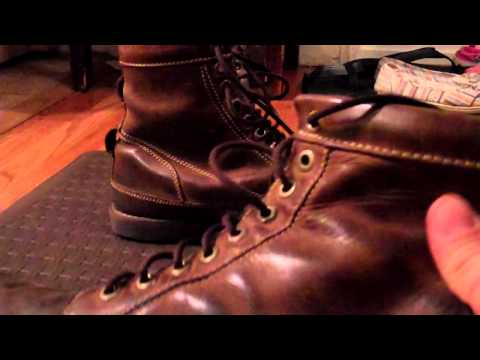 "4 yr old Timberland Men's Earthkeepers 6"" Boot After Resole"