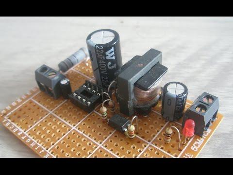 Простой светодиодный драйвер с ШИМ входом
