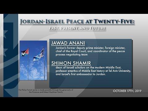 Jordan-Israel Peace At Twenty-Five: Past, Present, And Future