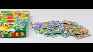 Обзор - распаковка игрушек Домино Сказки, животные, казки  ДАНКО - ТОЙС