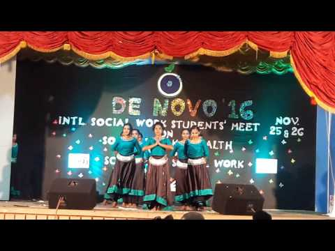 Cancer theme dance BSW(2014-17)Rajagiri College of social sciences