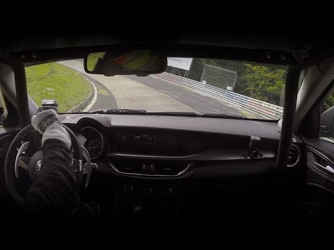 Alfa Romeo Stelvio Quadrifoglio   New Record at Nürburgring