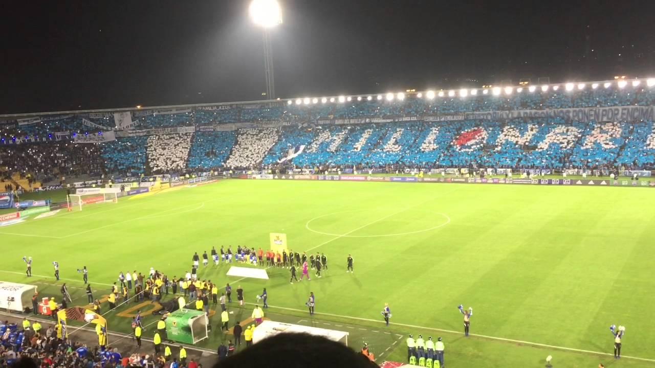 Nacional Vs Millonarios 2019 Image: Millonarios Vs Nacional 2-1 2016 (salida Y Tifo)