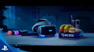 2016 Taco Bell PlayStation VR Commercial | Player One