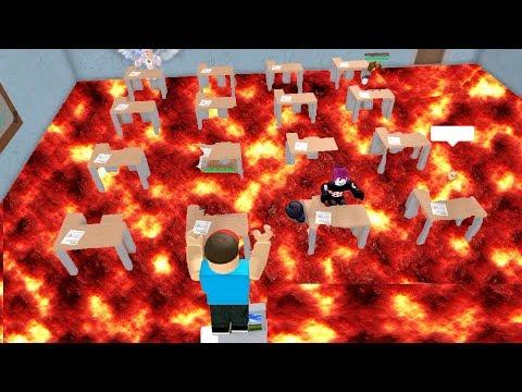 Escape The School Obby In Roblox W Prestonplayz Youtube