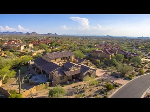Luxury Mirabel Home For Sale In Scottsdale With Mountain And City Light Views