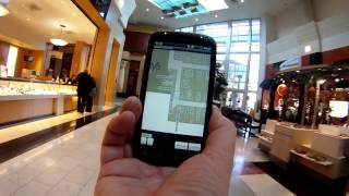 Indoor Positioning, Washington Square Mall