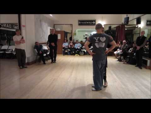 Tango Lesson: Playing With The Parada And Pasada