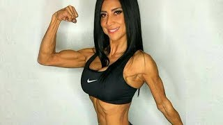 52 years young Patti Raisor - Female muscle