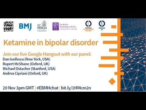 Ketamine in bipolar disorder
