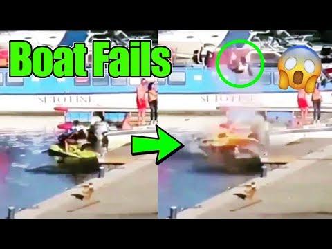 Best Boat Fails Compilation | Best Boat Launch Fails