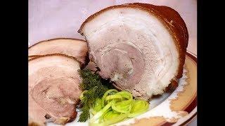 Рулет из свинины по рецепту моей бабушки