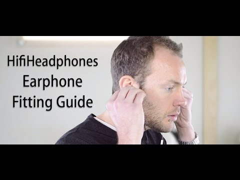 How to stop earphones from falling out of your ears - Fitting Options