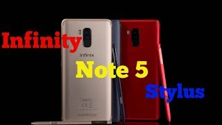 Infinix Note 5 Stylus Unboxing and Camera Smartphone?