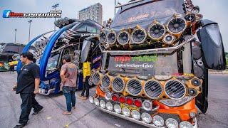 พาเดินชมบรรยากาศในงาน Thailand Tour Theque & Truck Light Show 2019 ช่วงเย็นๆกันครับ