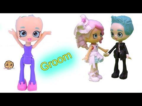 Groom Wedding Shopkins Happy Places Doll Custom ! DIY Painting Video