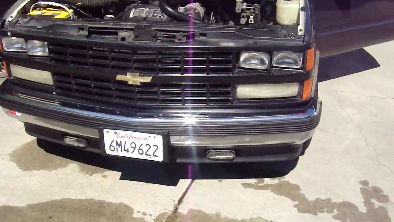 1988 Chevy Silverado Walk Around - YouTube