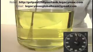Green Fuel Tab Dissolving Demonstration