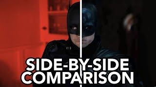 Homemade THE BATMAN Trailer - Comparison W/ Original