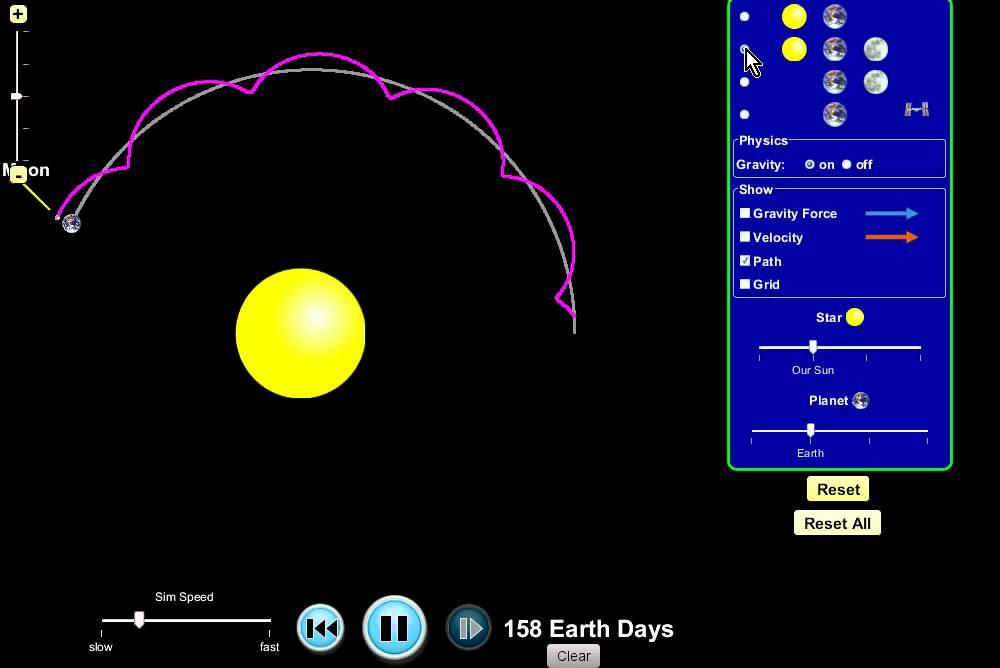 Земля вращается вокруг Солнца!