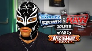 "WWE Smackdown vs Raw 2011 - ""NEW SERIES DEBUT!!"" (Road To WrestleMania Ep 1)"