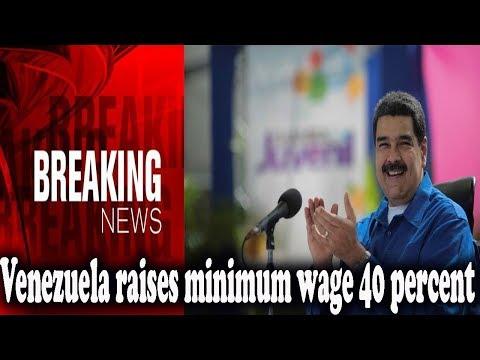 Venezuela raises minimum wage 40 percent, stoking world's fastest inflation  || World News Radio