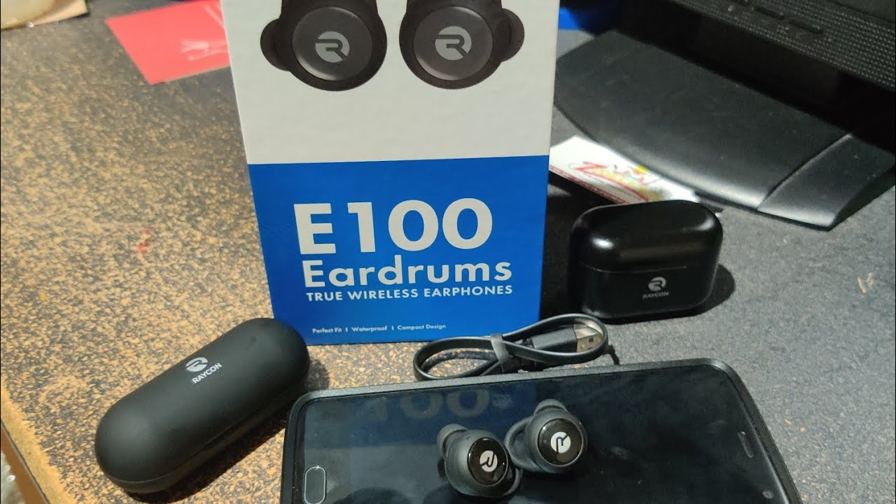 Raycon #E100 Wireless Earbuds Unboxing & Review
