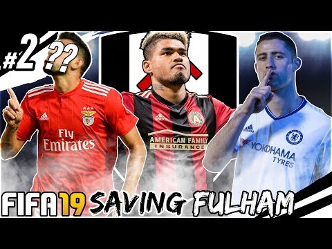 FIFA 19 SAVING FULHAM CAREER MODE #2 - 5 NEW BIG SIGNINGS!!!