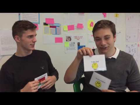 Card game to learn English - CAS