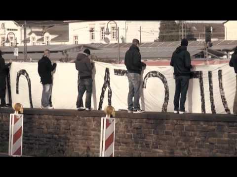 Trauermarsch für die Toten der Rheinwiesenlager in Remagen am 22.11.2014