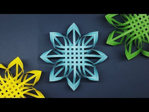 DIY Christmas Decor! | How to Make Paper Snowflakes Easy Steps | Christmas Decoration Ideas