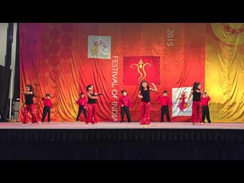 Aanya's dance performance at FOI 2015