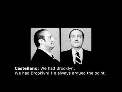 Paul Castellano Wiretap (Real, Rare Recording)