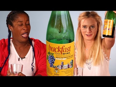 English People Try Buckfast For The First Time