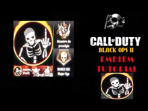 Skeletal Black Ops 2 Emblem