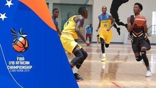 Rwanda vs Guinea - Full Game - FIBA U16  Africa Championship 2019